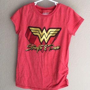 Other - Wonder women girls t-shirt